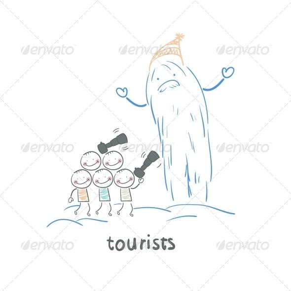GraphicRiver Tourists 5643006