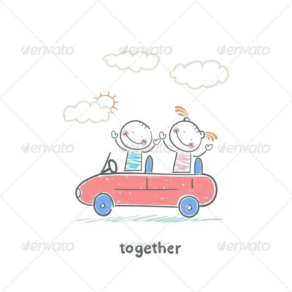 GraphicRiver Couple in Love 5643023
