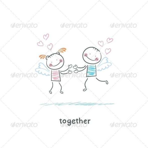 GraphicRiver Couple in Love 5643030