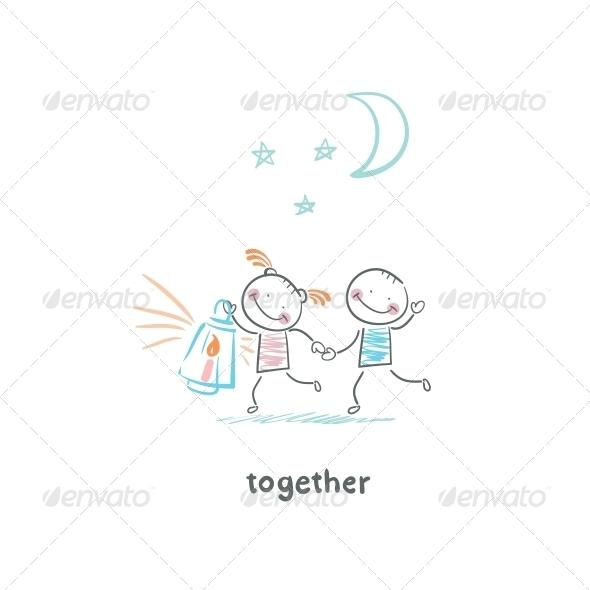 GraphicRiver Couple in Love 5643037