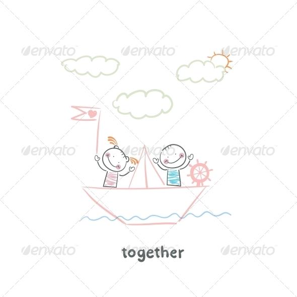 GraphicRiver Couple in Love 5643260