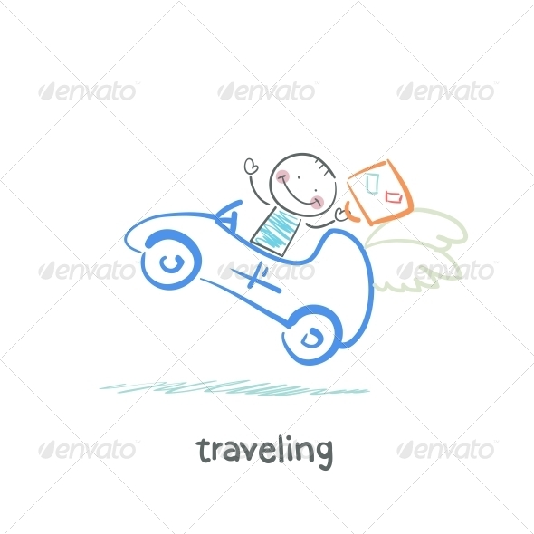 GraphicRiver Traveling 5643308
