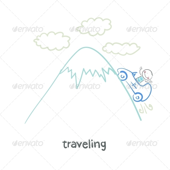 GraphicRiver Traveling 5643360