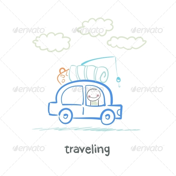 GraphicRiver Traveling 5643422
