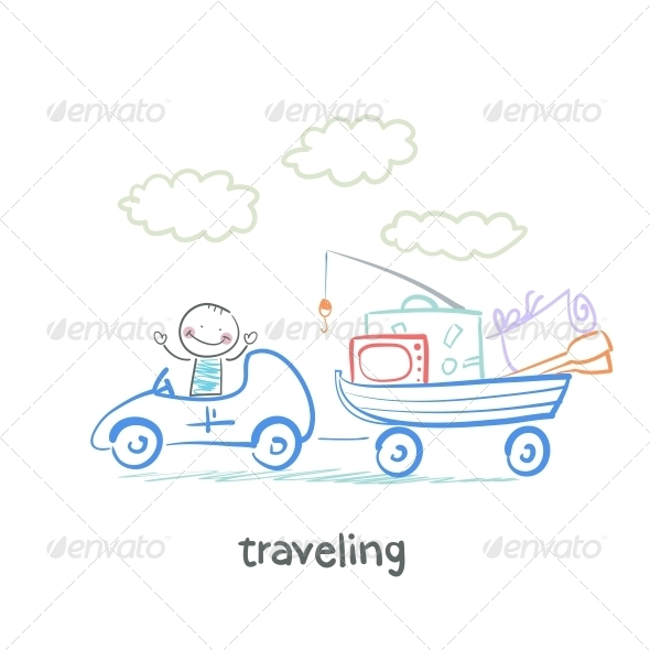 GraphicRiver Traveling 5643445