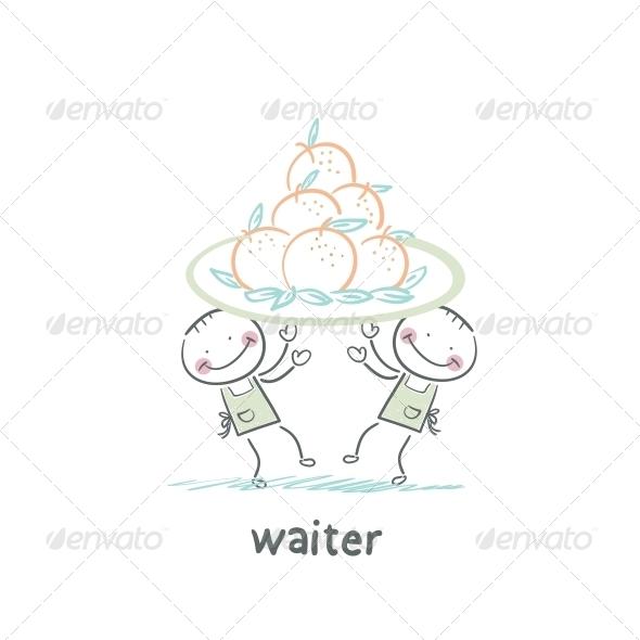 GraphicRiver Waiter 5643482