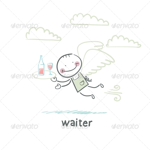 GraphicRiver Waiter 5643490
