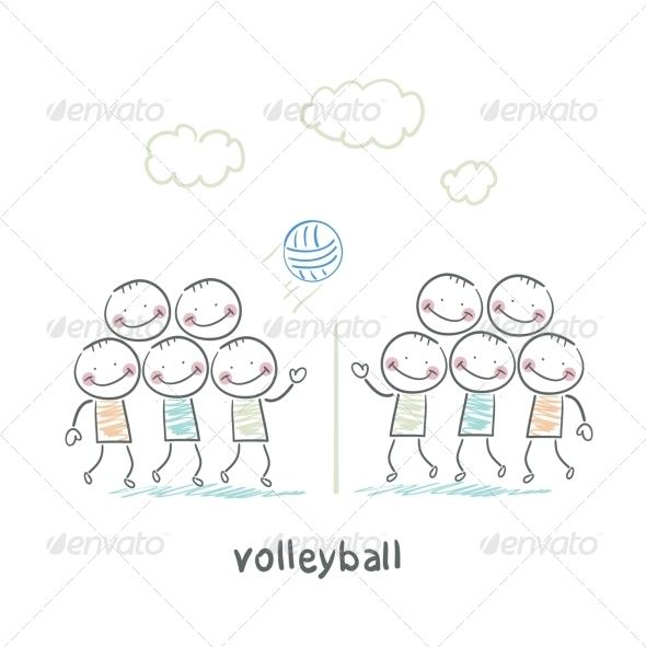 GraphicRiver Volleyball 5643494