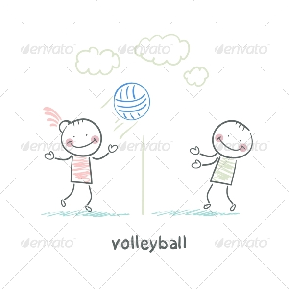 GraphicRiver Volleyball 5643500