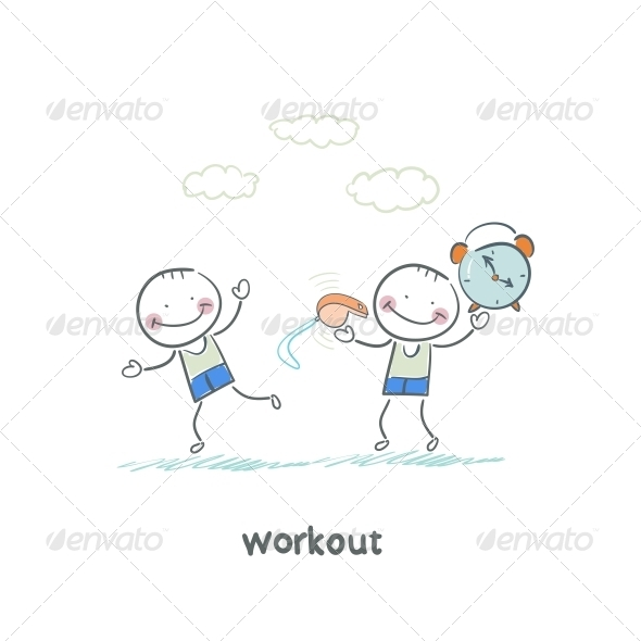 GraphicRiver Workout 5643503