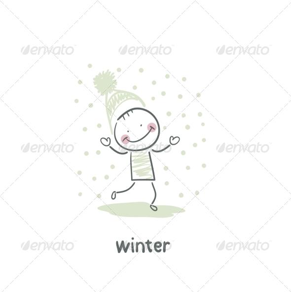 GraphicRiver Winter Walk 5643523