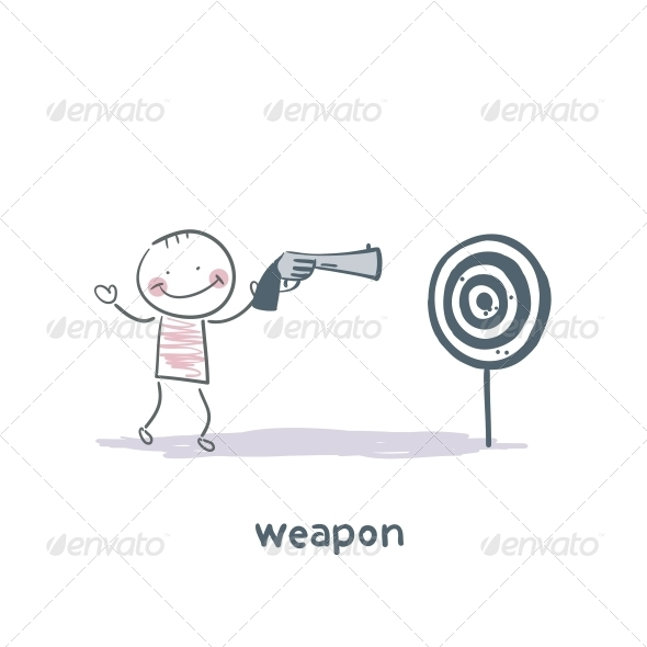 GraphicRiver Weapon 5643576