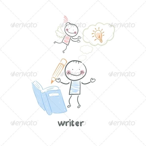 GraphicRiver Writer 5643587