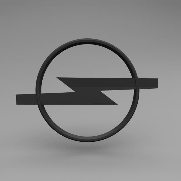 3DOcean Opel Logo 5643920
