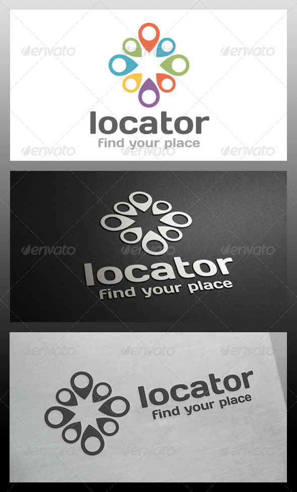 Locator Logo Template