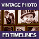 Family Vintage Photo Fb Timelines - GraphicRiver Item for Sale