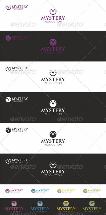 Mystery - M Logo Branding