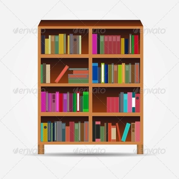 GraphicRiver Bookcase 5644770