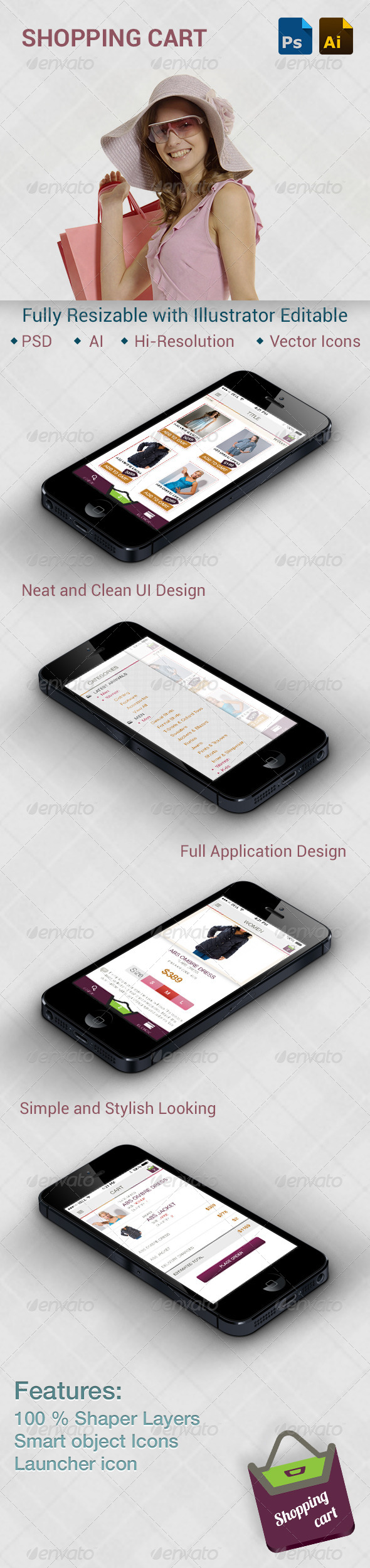 GraphicRiver Shopping Application 5636463