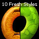 10 Colorful Photoshop Styles - GraphicRiver Item for Sale