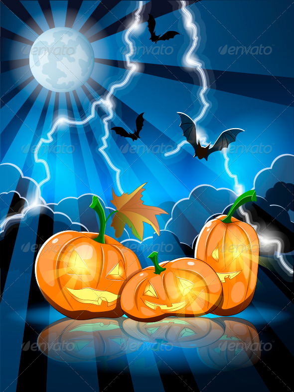 GraphicRiver Halloween Pumpkins 5645340