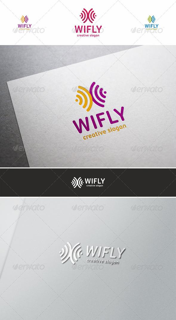 Wi Fly Creative Logo - Symbols Logo Templates