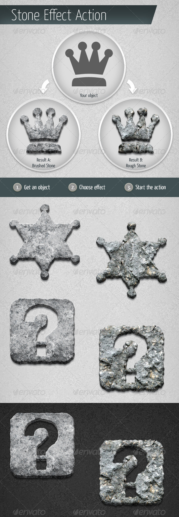 GraphicRiver Stone Effect Action 5645658