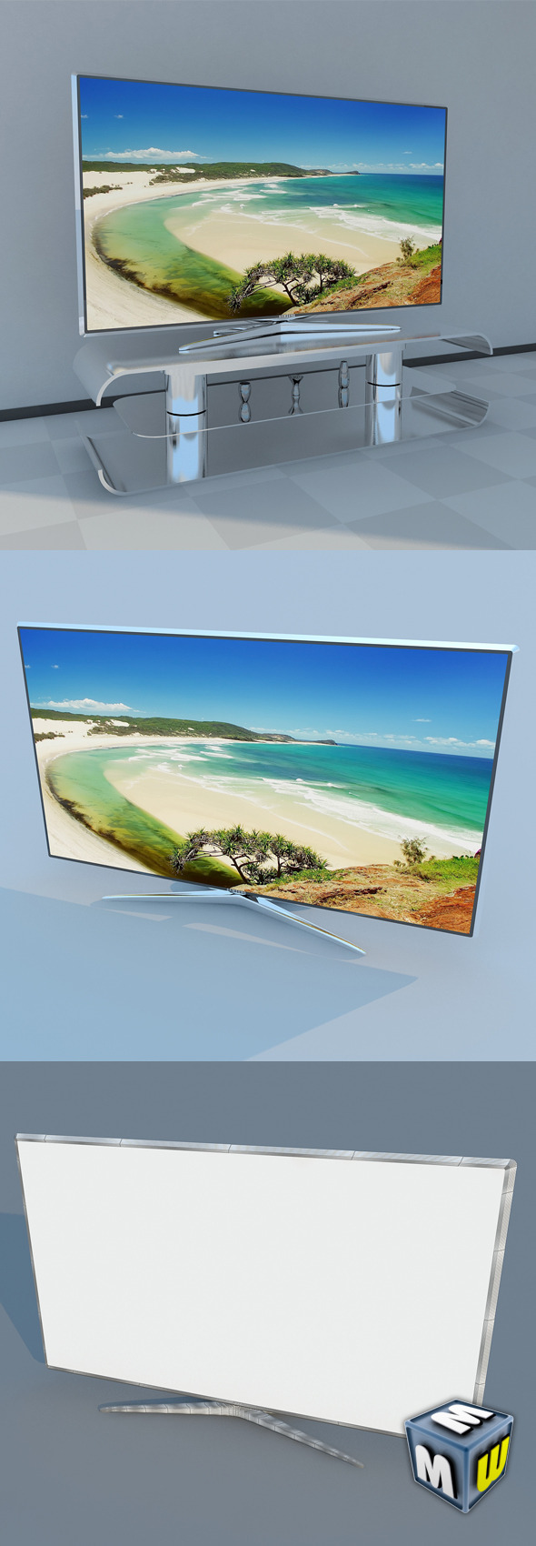 Samsung LED 60 D7000 - 3DOcean Item for Sale