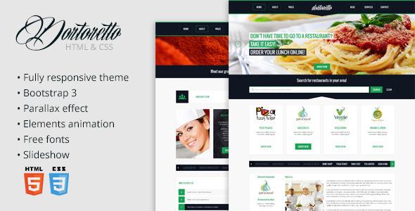 ThemeForest Dortoretto HTML Theme 5625203