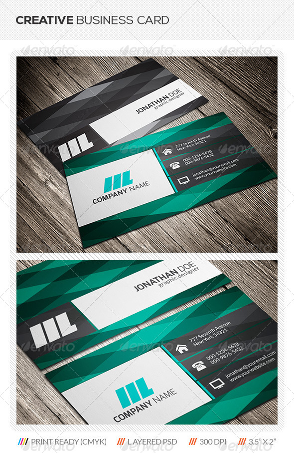 GraphicRiver Creative Business Card 5645968