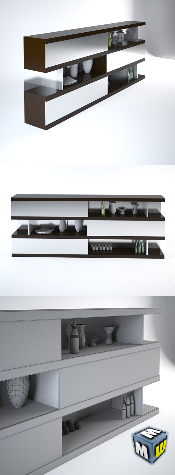 3DOcean Shelf MAX 2011 5646221