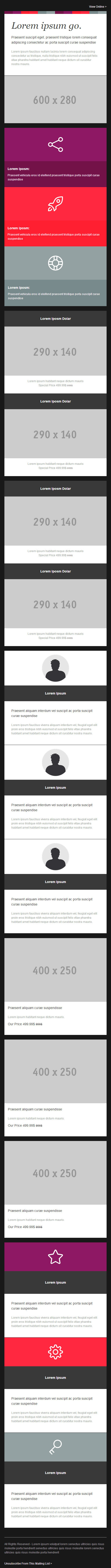 Modulo - Modern And Modular Responsive Email