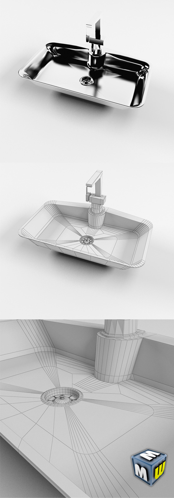 3DOcean Sink MAX 2011 5646377