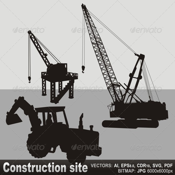 GraphicRiver Construction Site 5646443