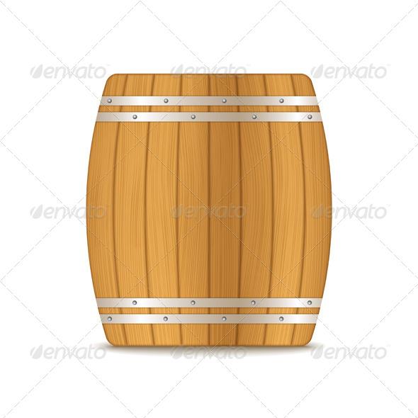 GraphicRiver Wooden Barrel 5648020