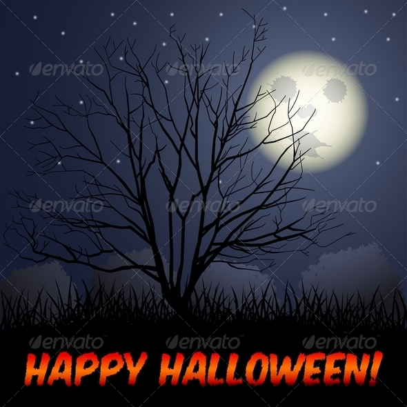 GraphicRiver Halloween Background 5648113