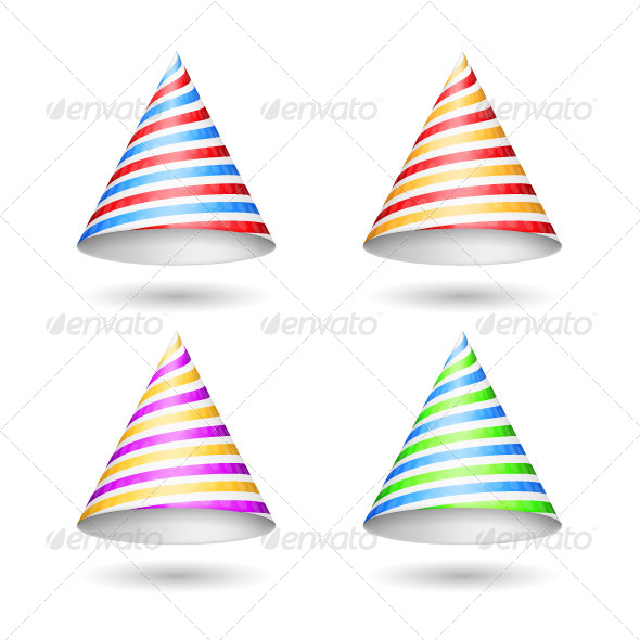 GraphicRiver Party Hats 5648144