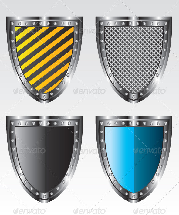GraphicRiver Shields Set Illustration 5648409