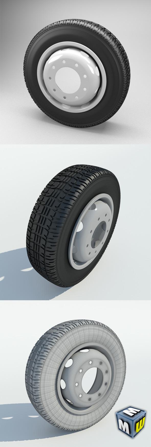 3DOcean Wheel Truck 5648583