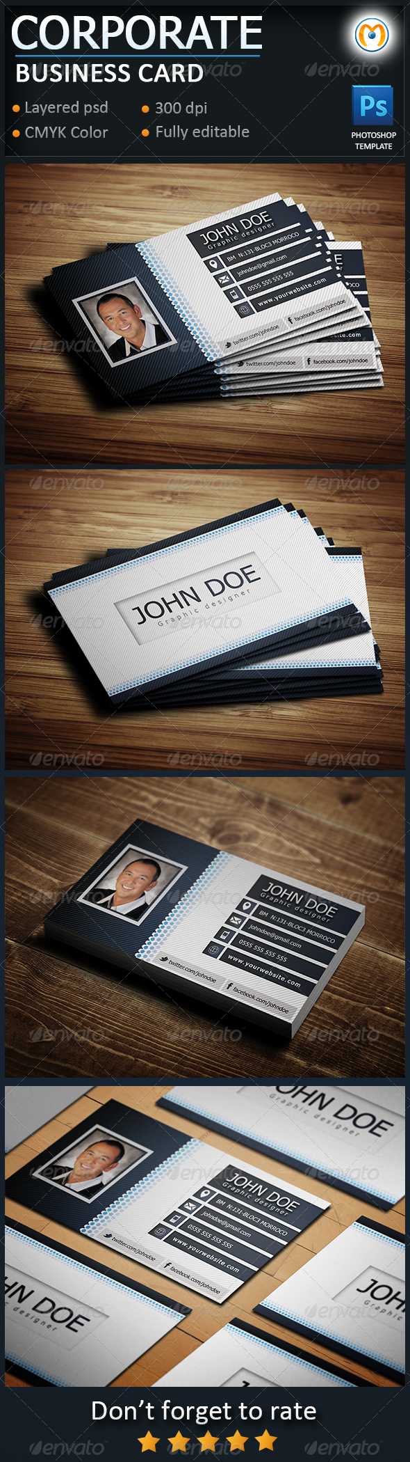 Corporate Business Card V.2 - Corporate Business Cards