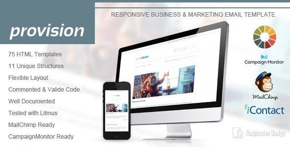 ThemeForest ProVision Responsive Email Template 5648902