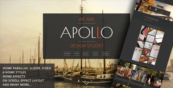 Apollo - Responsive Animated Template