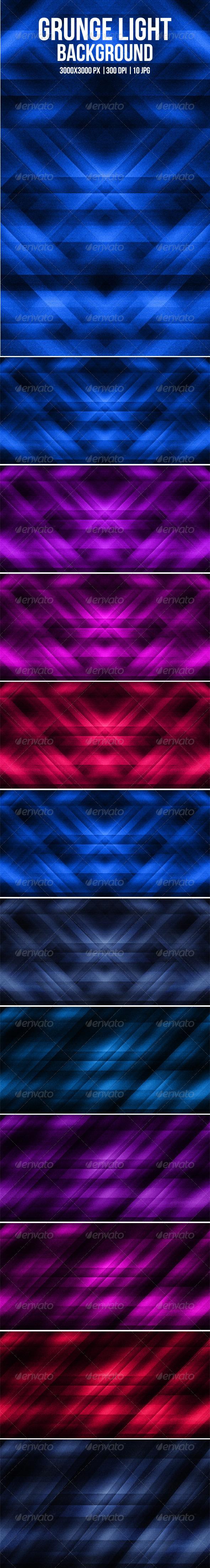 GraphicRiver 10 Grunge Light Background 5649577