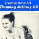 Creative Hand Art Drawing 5 - GraphicRiver Item for Sale