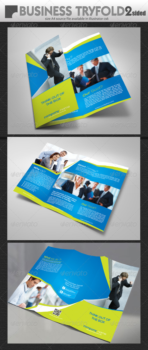 GraphicRiver Office Business Try Fold 5650573