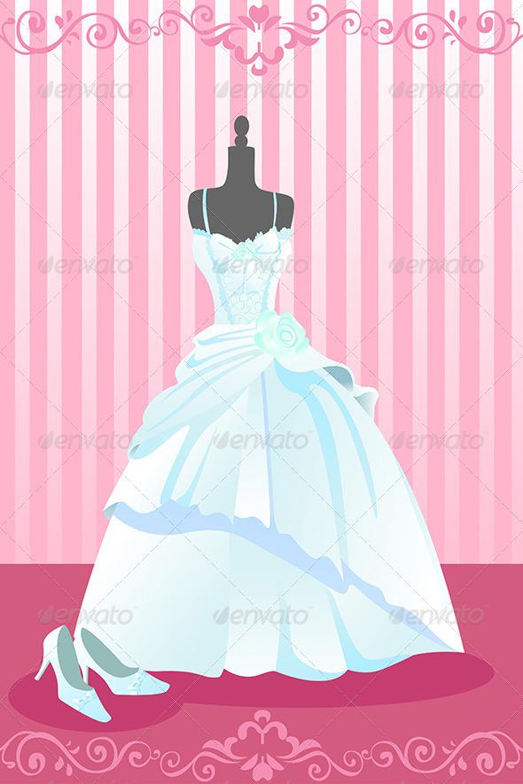 GraphicRiver Wedding Dress 5652223