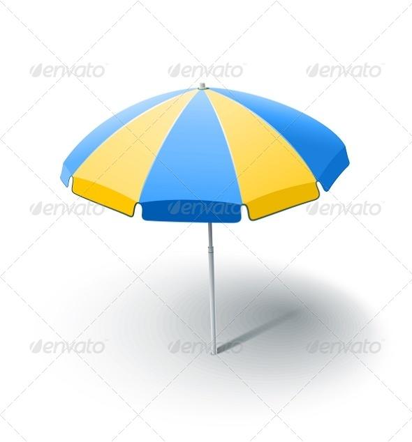GraphicRiver Beach Sunshade 5652661