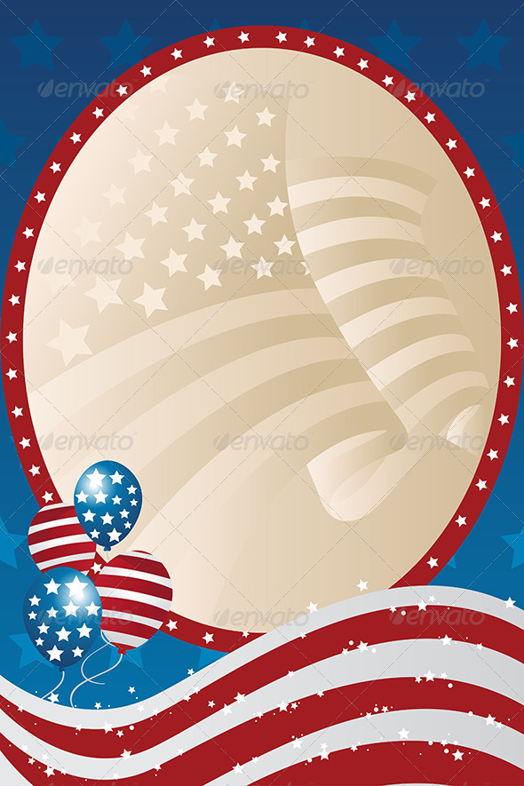 GraphicRiver Fourth of July banner 5652720