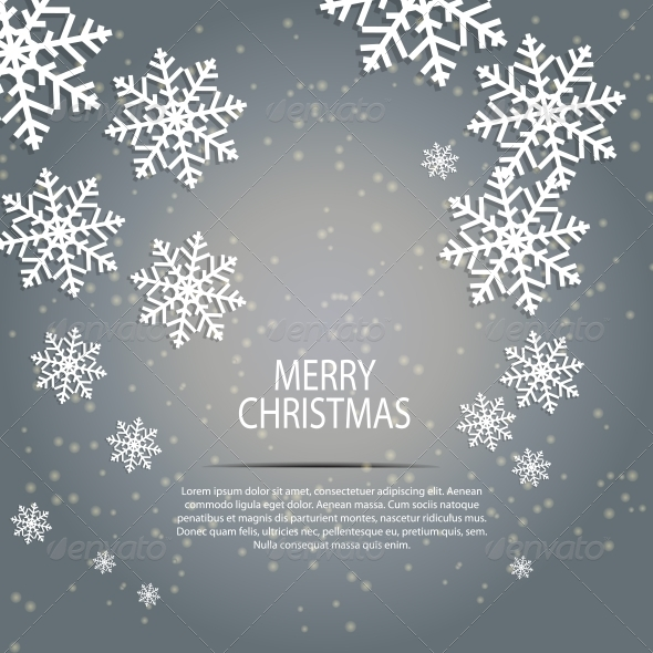 GraphicRiver Abstract Beauty Christmas and New Year Background 5652721