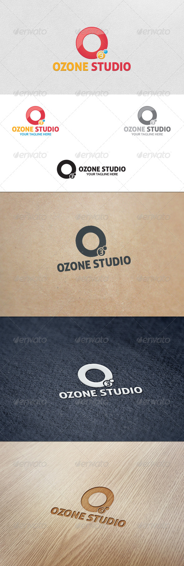 Ozone Studio Logo Template